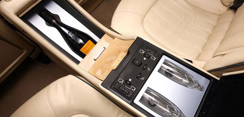 Maserati Quattroporte Bellagio: lehká ojetina na prodej: - fotka 15