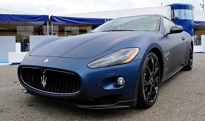 Maserati GranTurismo S MC Line Edizione Speciale: česká premiéra v Brně: - fotka 5