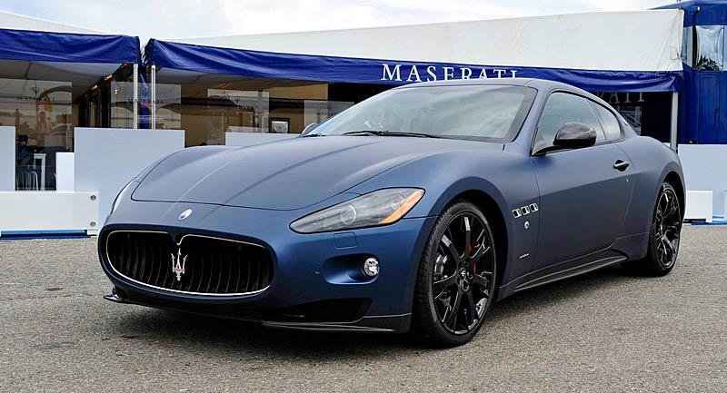 Maserati GranTurismo S MC Line Edizione Speciale: česká premiéra v Brně: - fotka 6