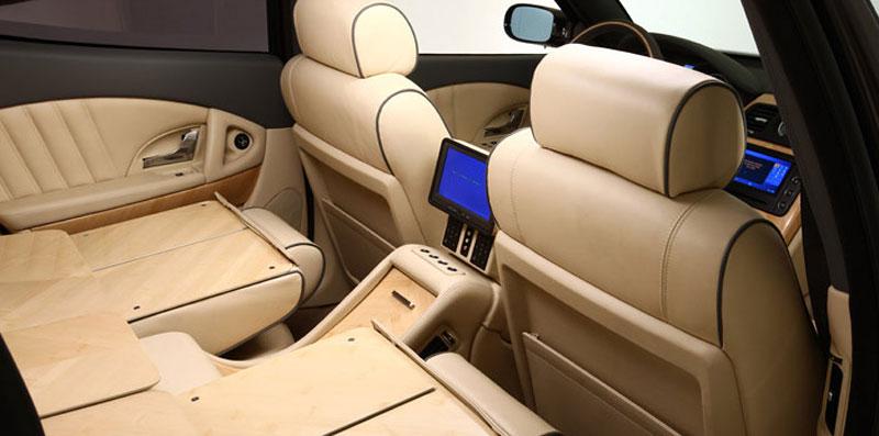 Maserati Quattroporte Bellagio: lehká ojetina na prodej: - fotka 17