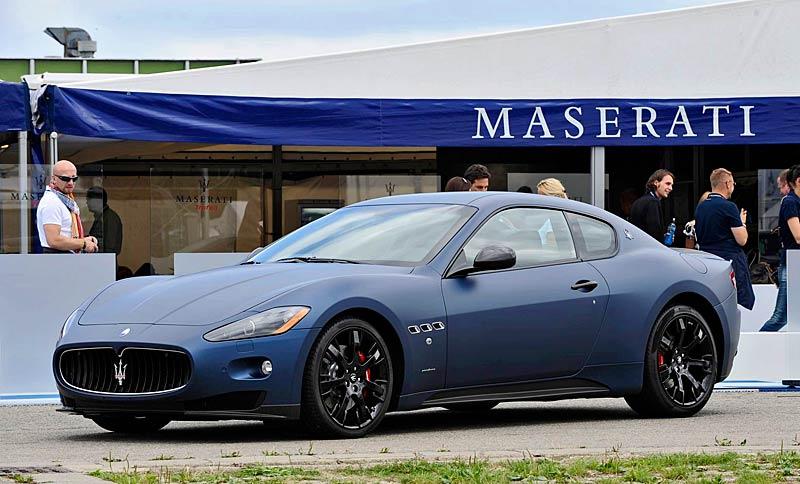 Maserati GranTurismo S MC Line Edizione Speciale: česká premiéra v Brně: - fotka 9