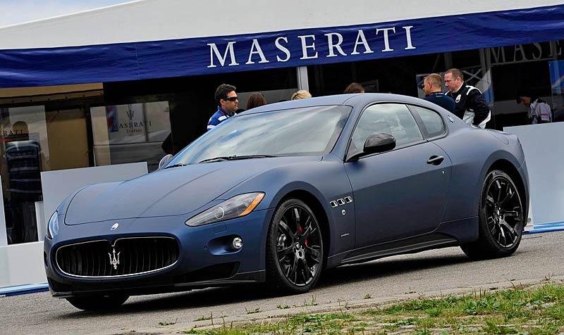 Maserati GranTurismo S MC Line Edizione Speciale: česká premiéra v Brně: - fotka 10