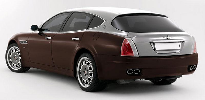Maserati Quattroporte Bellagio: lehká ojetina na prodej: - fotka 22