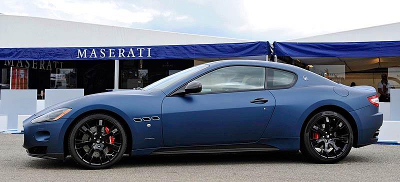Maserati GranTurismo S MC Line Edizione Speciale: česká premiéra v Brně: - fotka 11