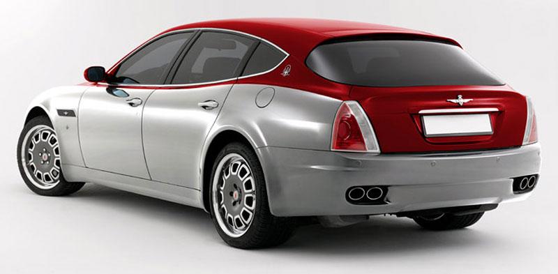 Maserati Quattroporte Bellagio: lehká ojetina na prodej: - fotka 24