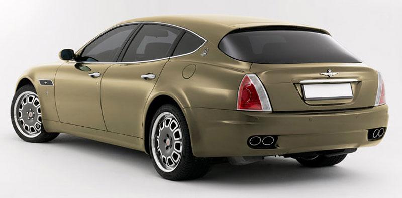 Maserati Quattroporte Bellagio: lehká ojetina na prodej: - fotka 25
