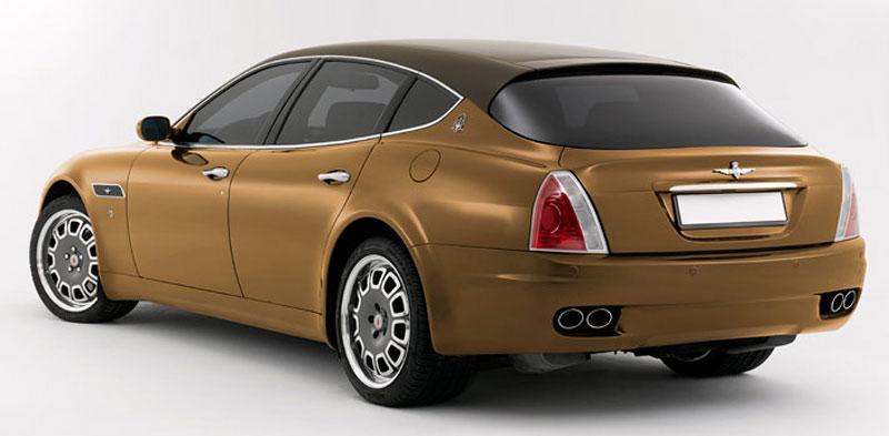 Maserati Quattroporte Bellagio: lehká ojetina na prodej: - fotka 27