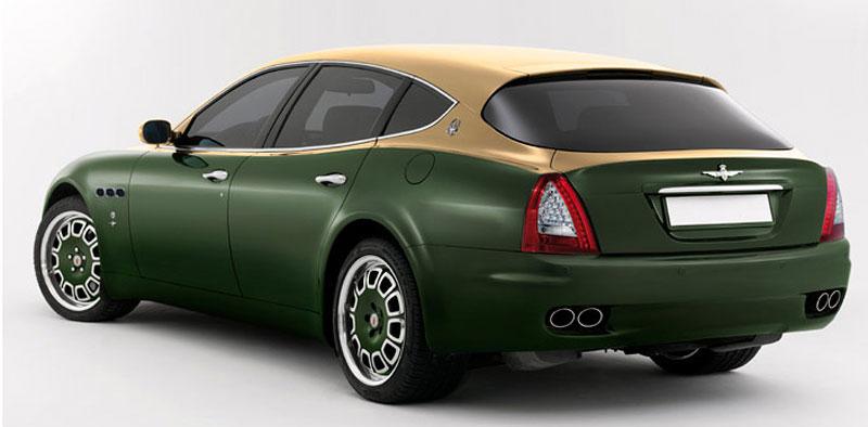 Maserati Quattroporte Bellagio: lehká ojetina na prodej: - fotka 28