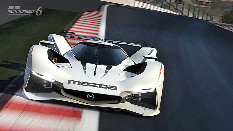 Mazda LM55 Vision Gran Turismo: Pocta 787B a dárek virtuálním pilotům: - fotka 1