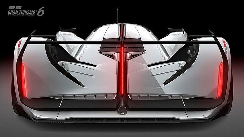 Mazda LM55 Vision Gran Turismo: Pocta 787B a dárek virtuálním pilotům: - fotka 15