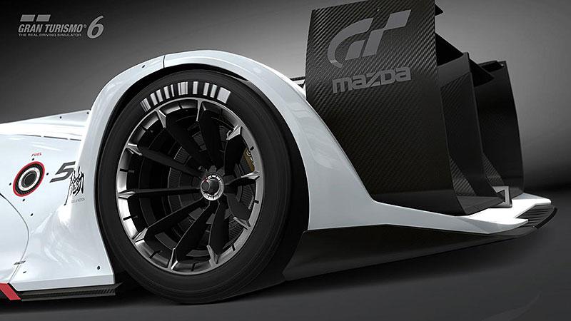 Mazda LM55 Vision Gran Turismo: Pocta 787B a dárek virtuálním pilotům: - fotka 16