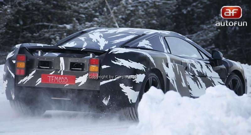 Spy Photos: McLaren P11: - fotka 6