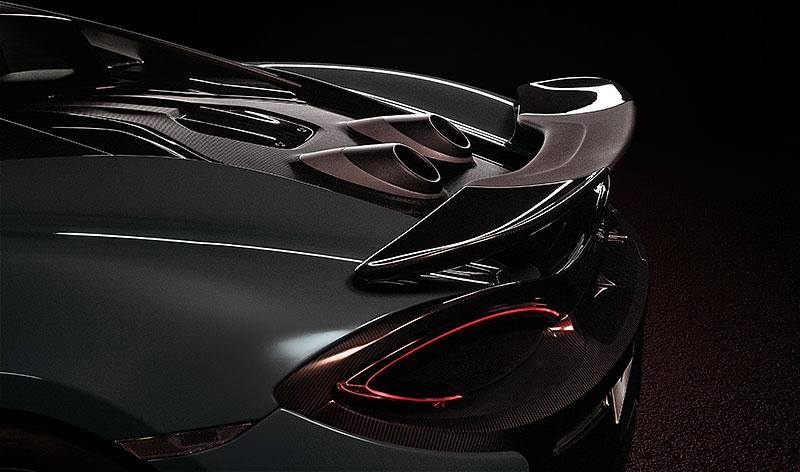 Víte, proč má McLaren 600LT výfuk vyvedený vzhůru? Přináší to spoustu výhod: - fotka 8