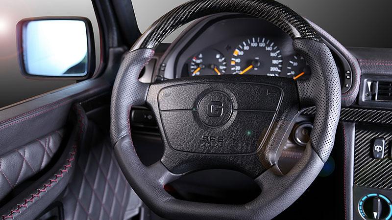 Mercedes-Benz G Carbon Motors: Bulhaři vyhlásili válku plastům: - fotka 1