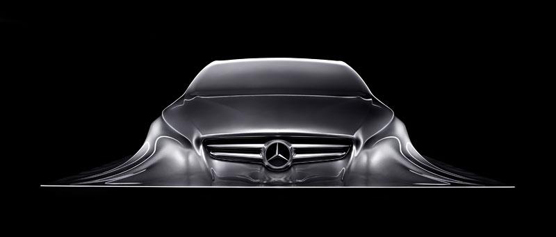 Mercedes-Benz Rising Car: designéři vytvořili opravdu pěknou sochu: - fotka 1