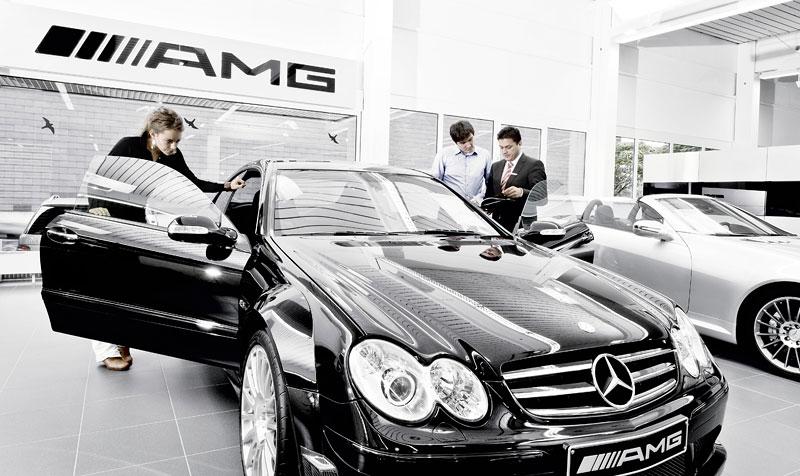 AMG otevře 175 nových Performance center, krize nekrize: - fotka 2
