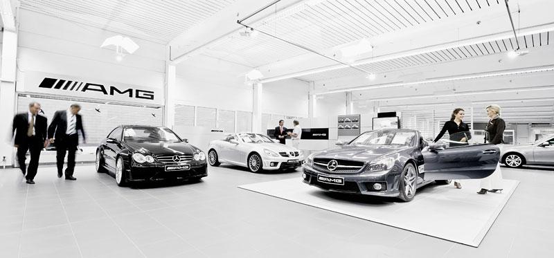 AMG otevře 175 nových Performance center, krize nekrize: - fotka 3
