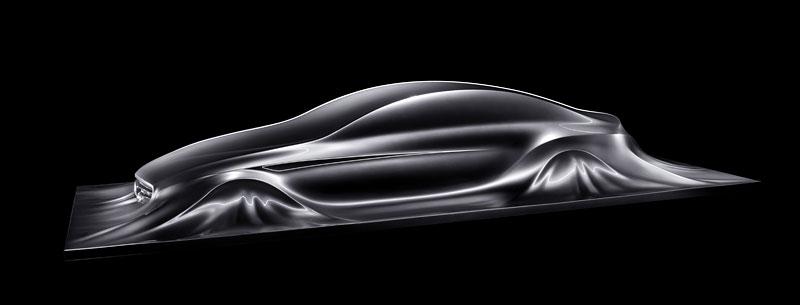Mercedes-Benz Rising Car: designéři vytvořili opravdu pěknou sochu: - fotka 3