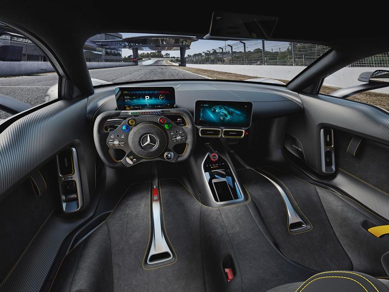 Mercedes-AMG Project One je jako Formule 1 pro dva: - fotka 2