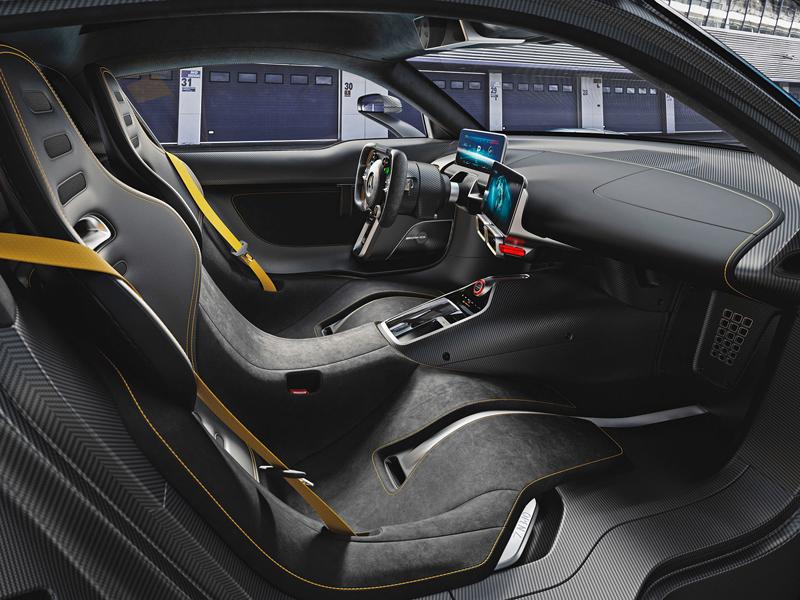 Mercedes-AMG Project One je jako Formule 1 pro dva: - fotka 3