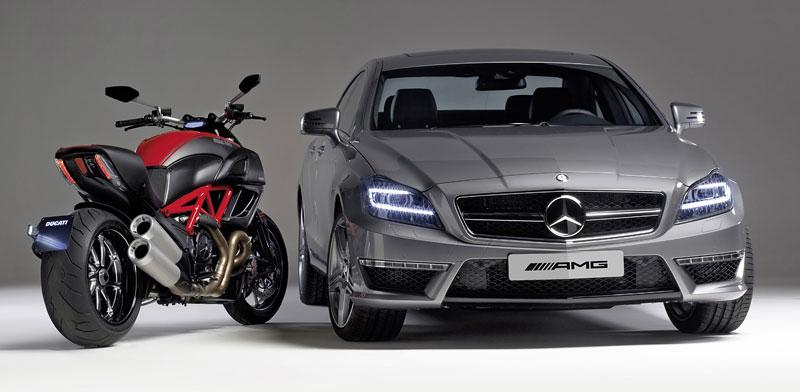 Značky AMG a Ducati oznámily v Los Angeles spolupráci: - fotka 1
