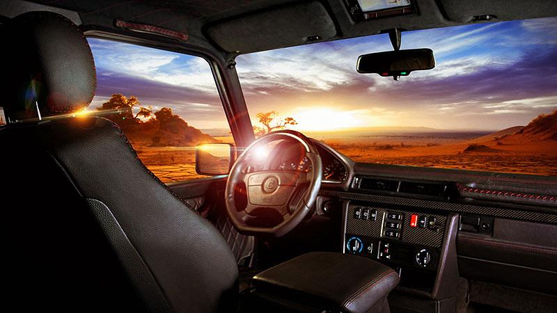 Mercedes-Benz G Carbon Motors: Bulhaři vyhlásili válku plastům: - fotka 14