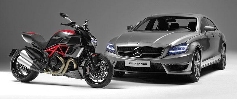 Značky AMG a Ducati oznámily v Los Angeles spolupráci: - fotka 3