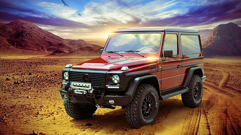 Mercedes-Benz G Carbon Motors: Bulhaři vyhlásili válku plastům: - fotka 15