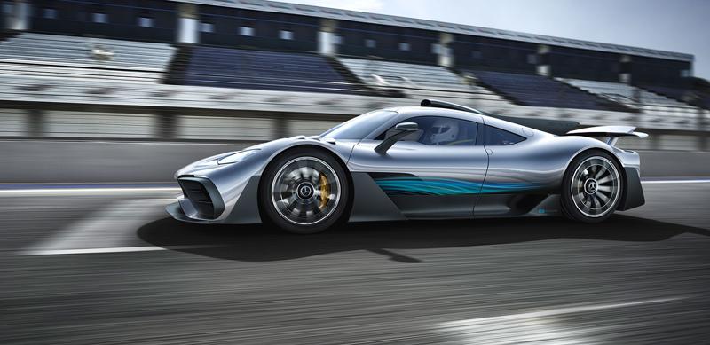 Mercedes-AMG Project One je jako Formule 1 pro dva: - fotka 5