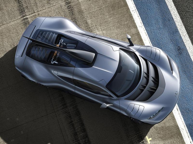 Mercedes-AMG Project One je jako Formule 1 pro dva: - fotka 6