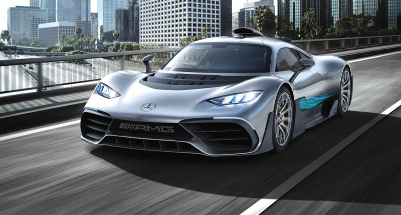 Mercedes-AMG Project One je jako Formule 1 pro dva: - fotka 7