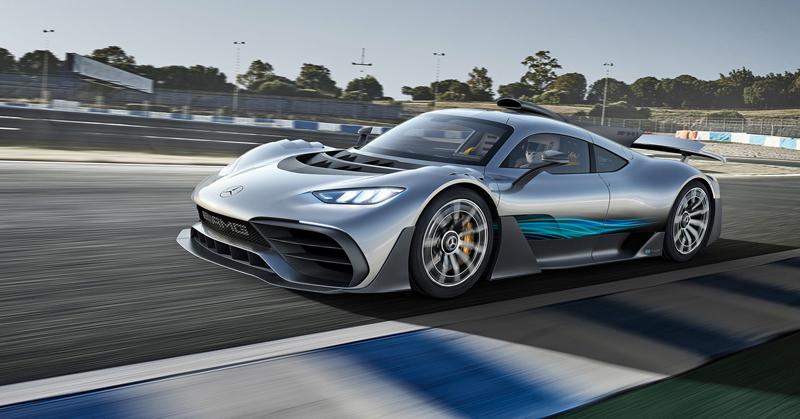 Mercedes-AMG Project One je jako Formule 1 pro dva: - fotka 8