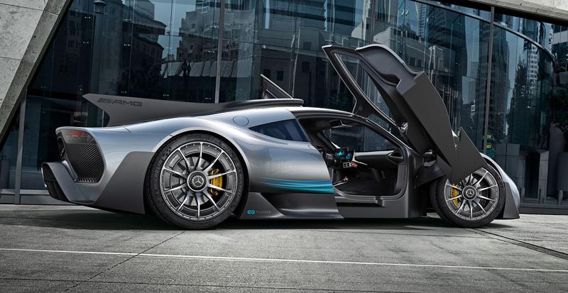 Mercedes-AMG Project One je jako Formule 1 pro dva: - fotka 9