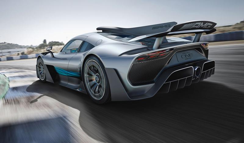 Mercedes-AMG Project One je jako Formule 1 pro dva: - fotka 10