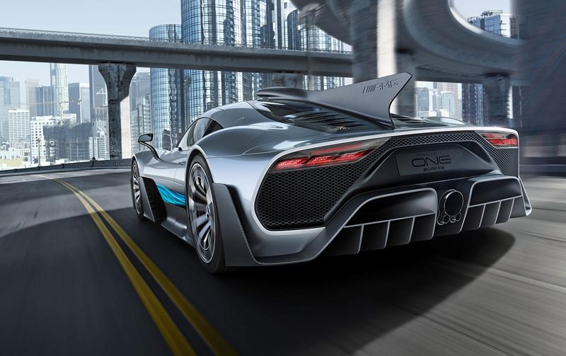 Mercedes-AMG Project One je jako Formule 1 pro dva: - fotka 11