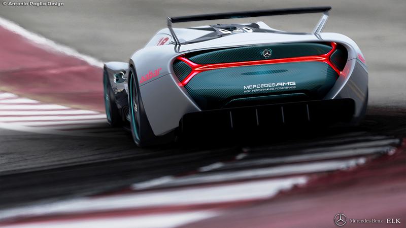Mercedes-Benz ELK: Vize elektrického supersportu s trojcípou hvězdou: - fotka 18