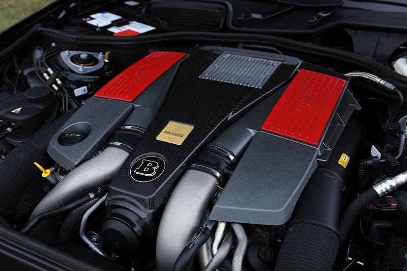 Brabus PowerXtra CGI: doping pro nové motory Mercedes V8 Biturbo: - fotka 7
