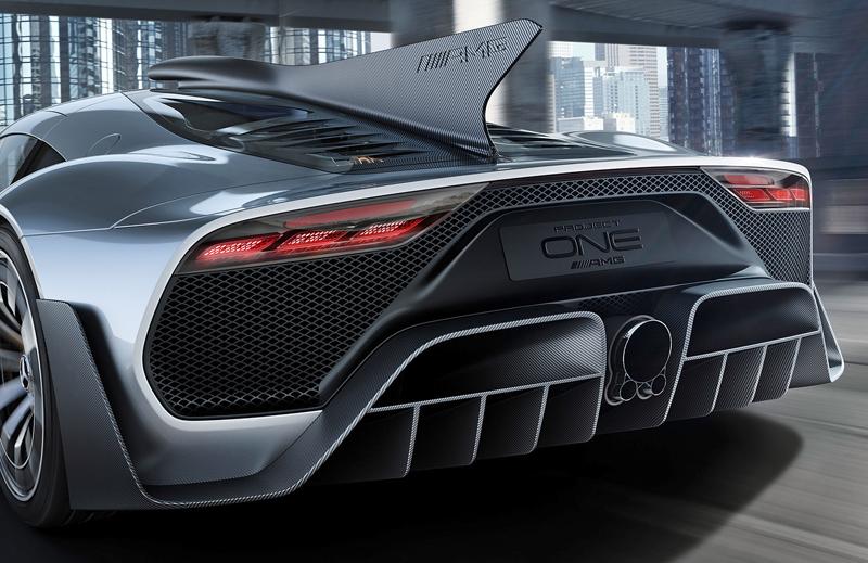 Mercedes-AMG Project One je jako Formule 1 pro dva: - fotka 13