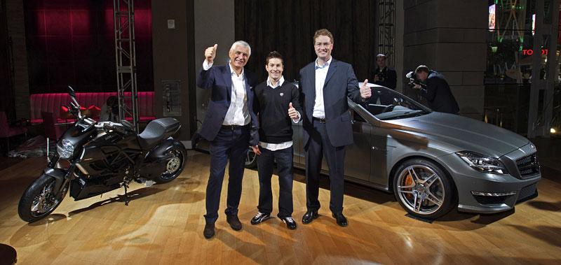 Značky AMG a Ducati oznámily v Los Angeles spolupráci: - fotka 8