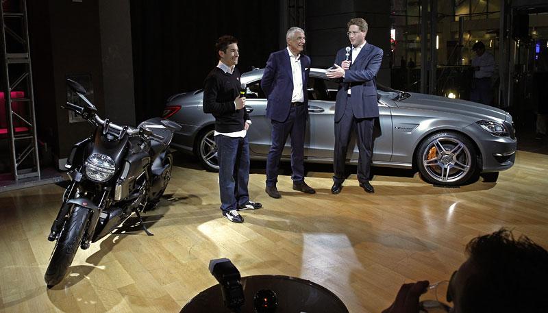 Značky AMG a Ducati oznámily v Los Angeles spolupráci: - fotka 12