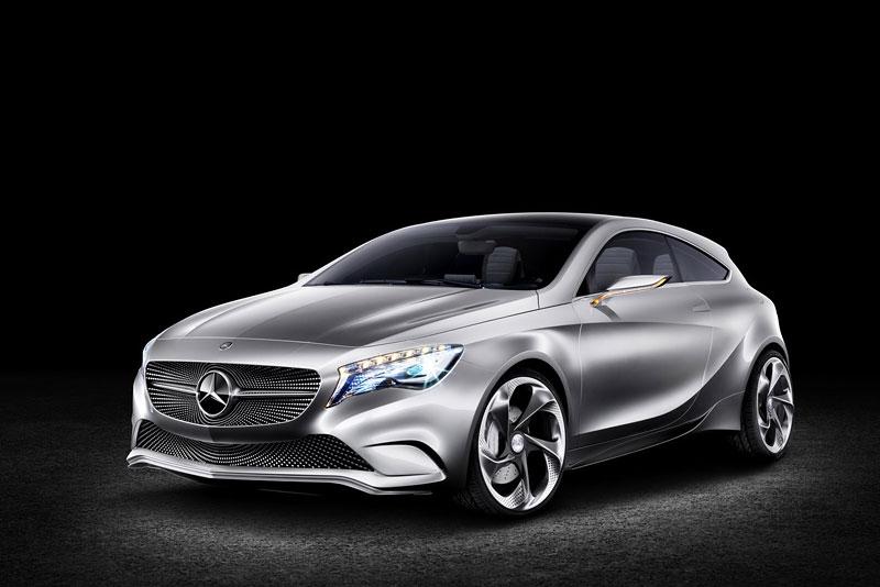 Mercedes-Benz Concept A Class v pohybu: tři oficiální videa: - fotka 9