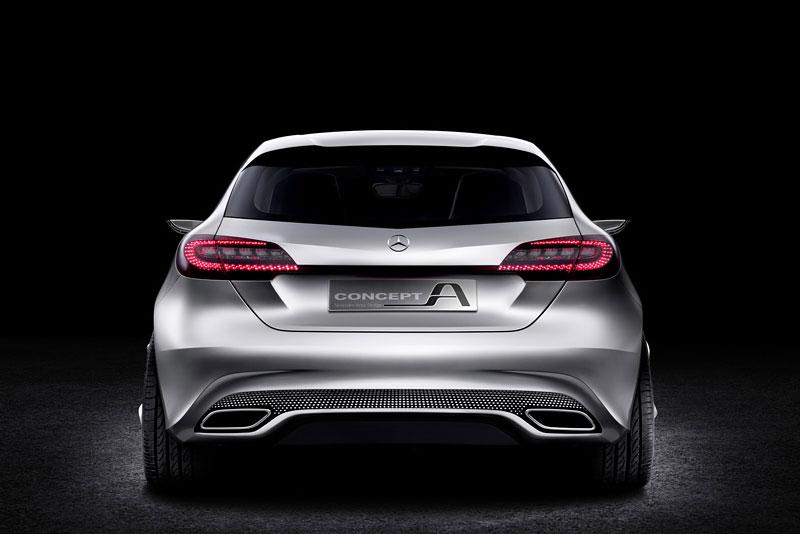 Mercedes-Benz Concept A Class v pohybu: tři oficiální videa: - fotka 12