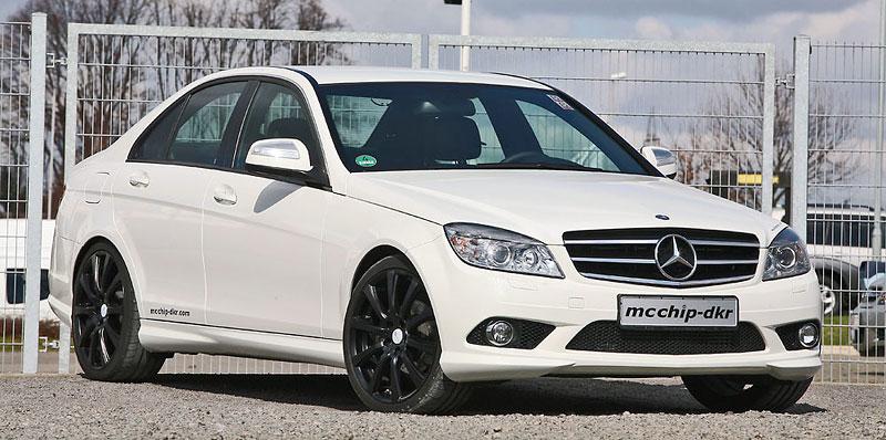Mercedes-Benz C200 CDI: velmi mírný zásah od MCCHIP: - fotka 1