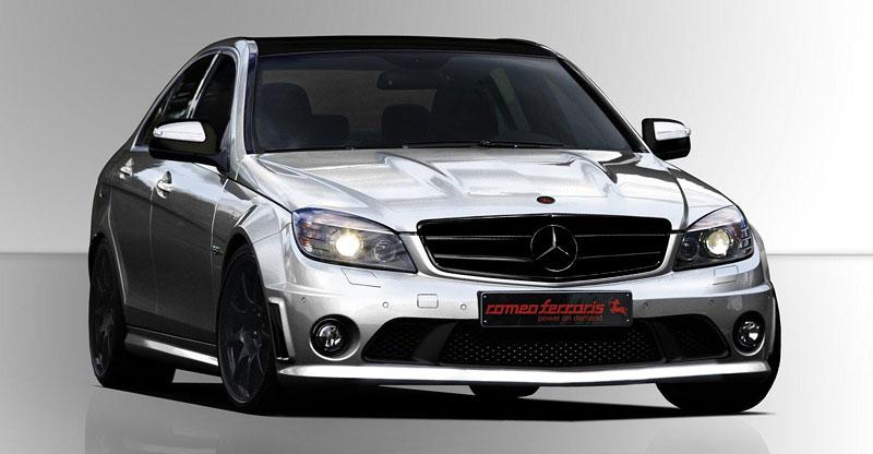 Mercedes-Benz C63 AMG Romeo Ferraris: sprechen Sie italiano?: - fotka 1