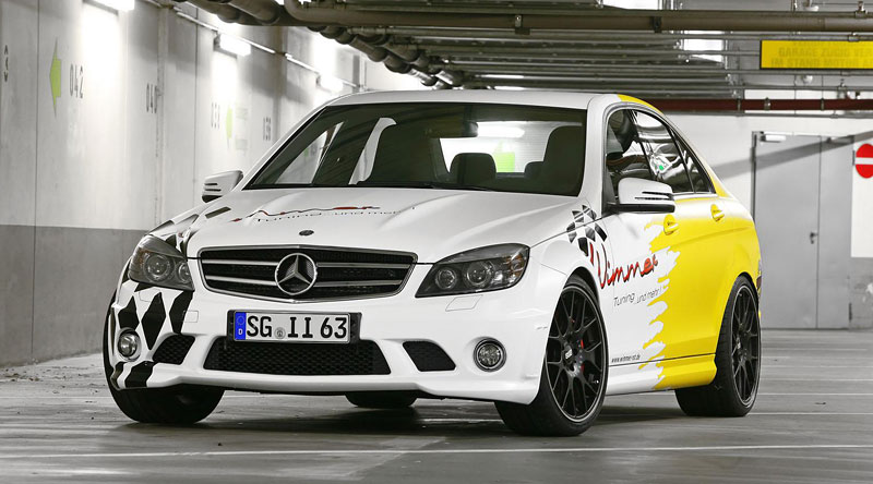 Mercedes-benz C63 AMG by Wimmer RS: - fotka 2