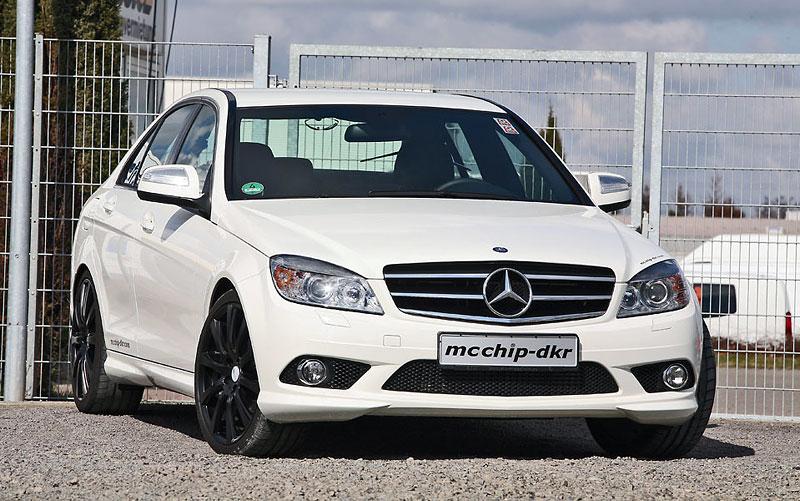 Mercedes-Benz C200 CDI: velmi mírný zásah od MCCHIP: - fotka 2