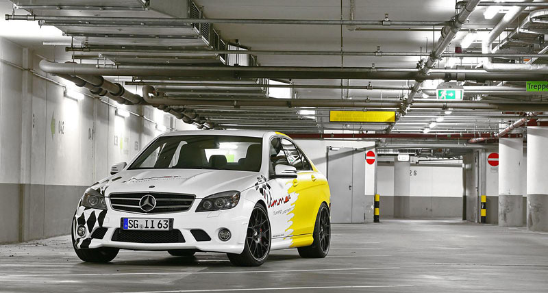Mercedes-benz C63 AMG by Wimmer RS: - fotka 3