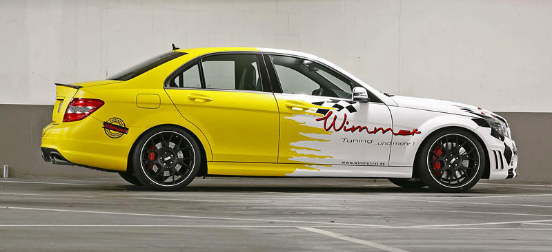Mercedes-benz C63 AMG by Wimmer RS: - fotka 5
