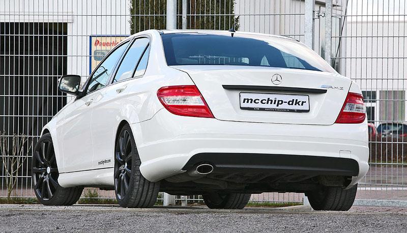 Mercedes-Benz C200 CDI: velmi mírný zásah od MCCHIP: - fotka 4