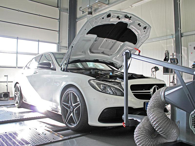 Mercedes-AMG C 63 od DTE-Systems: Céčko má 590 koní: - fotka 3